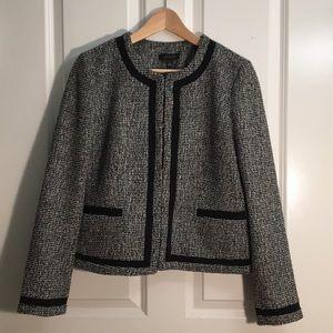 Ann Taylor tweed blazer, as good as new!